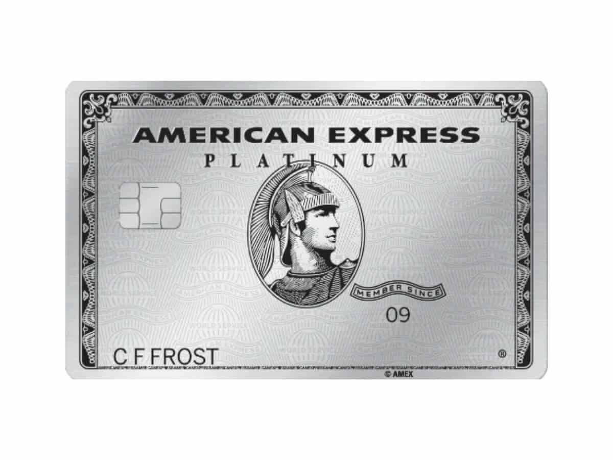 American Express Platinum card.