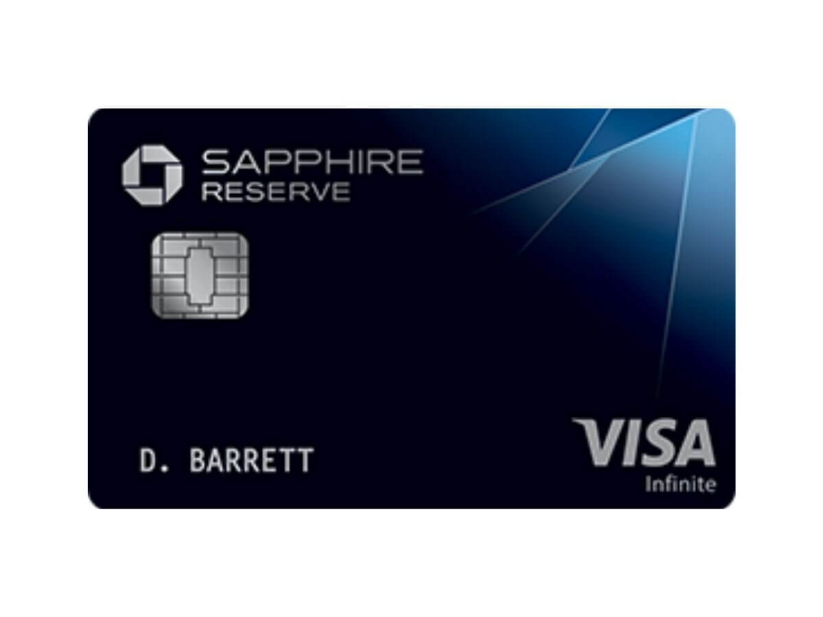Chase Sapphire Reserve credit card.