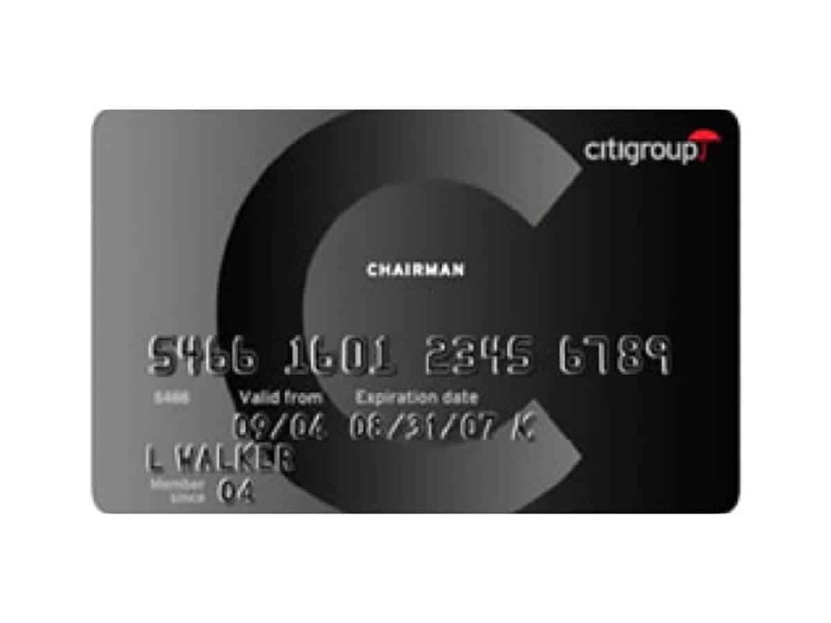 Citi Chairman American Express Card