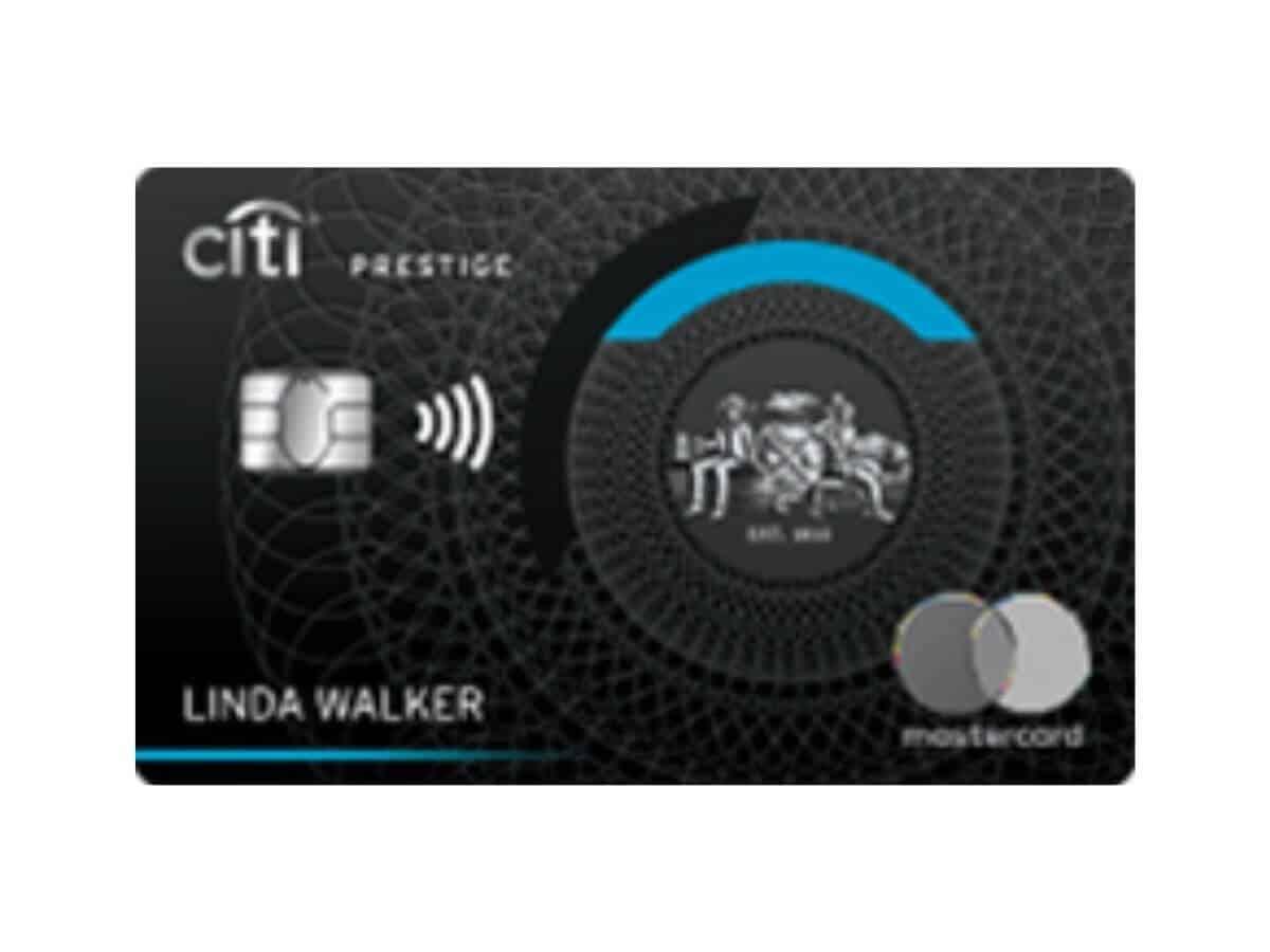 Citi Prestige credit card.