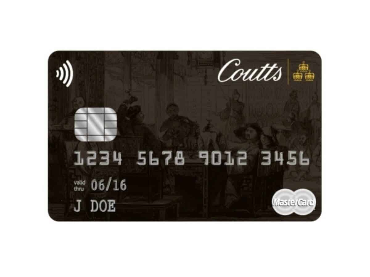 Coutts Silk card.