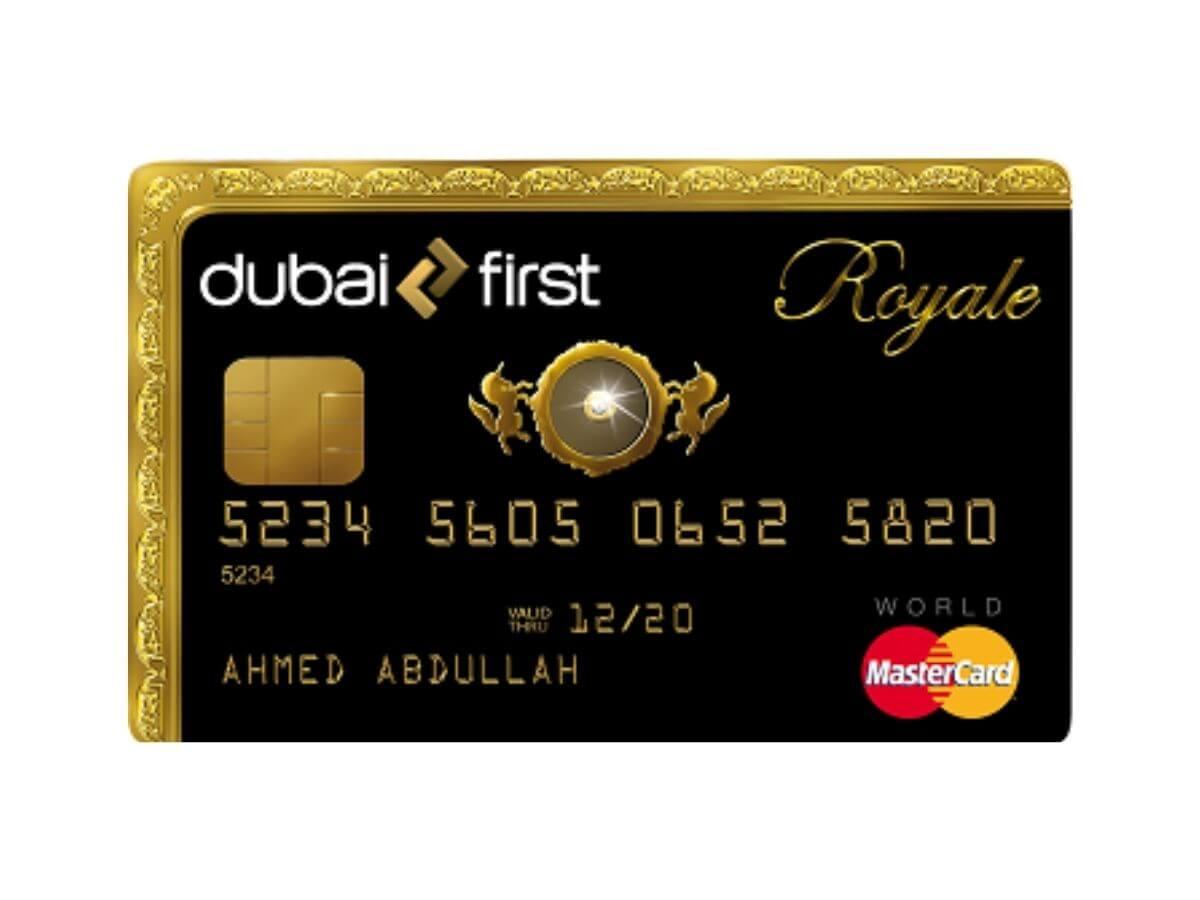 Dubai First Royale card.