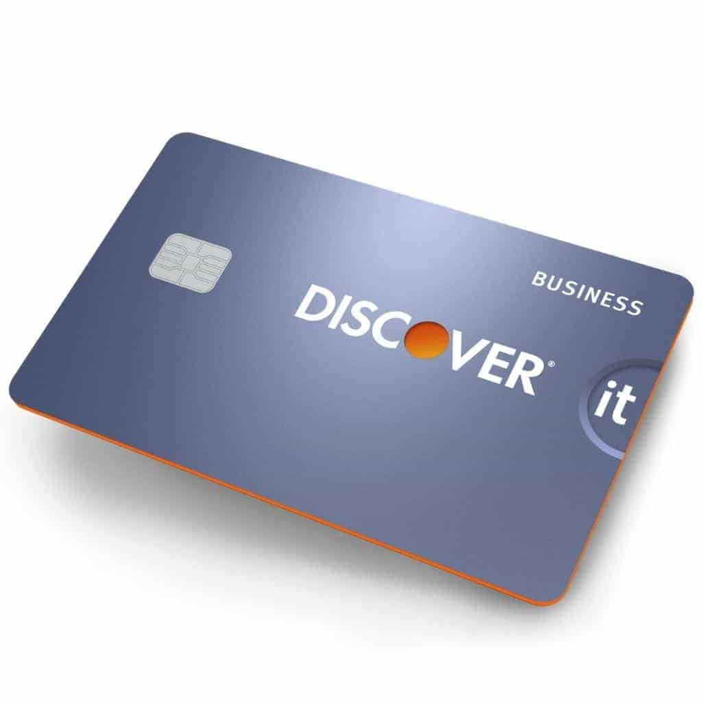 Discover business credit card.