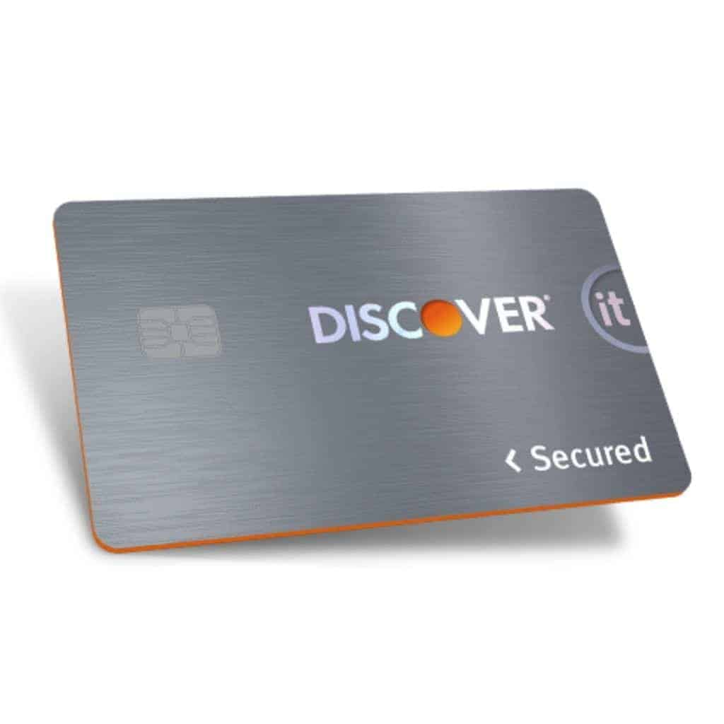 Discover secured credit card.