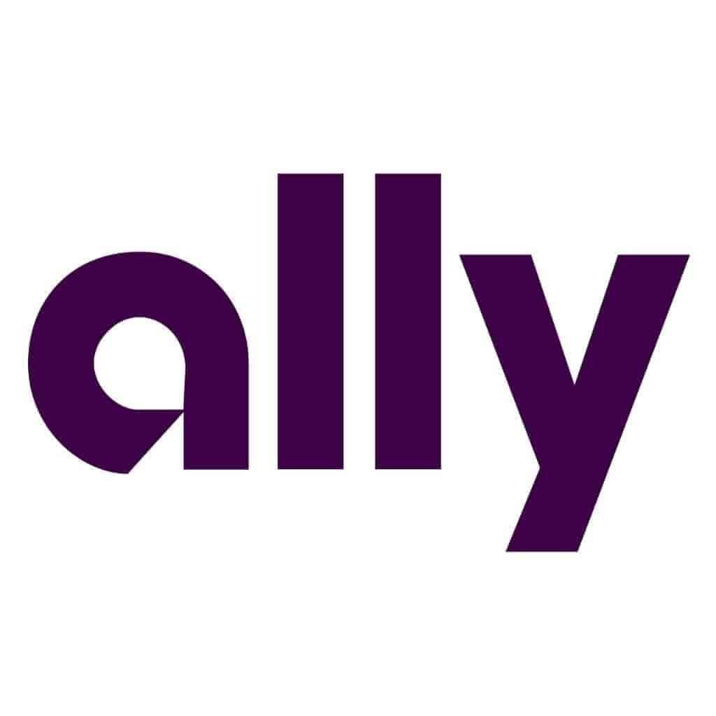 Ally Bank logo.