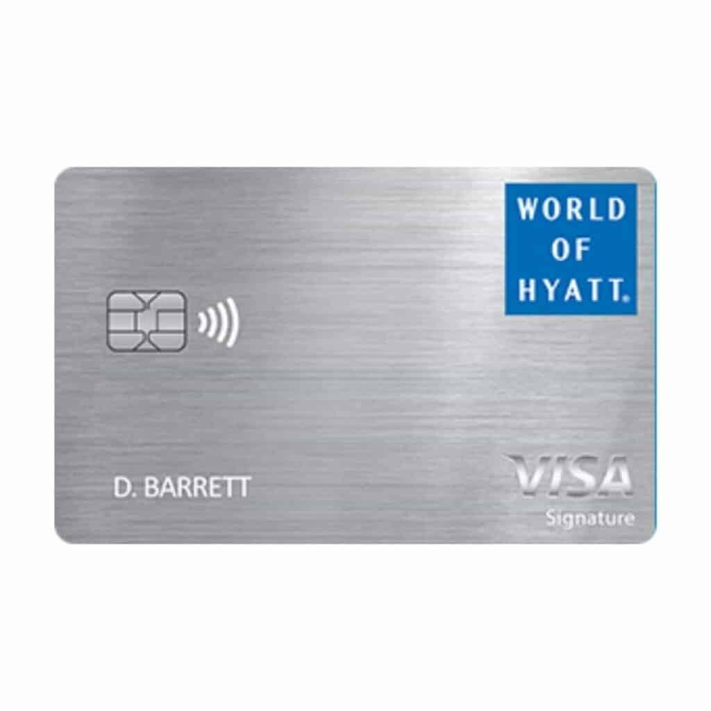 World of Hyatt credit card.