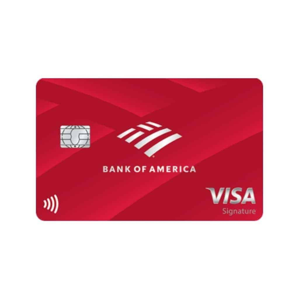 Bank of America secured credit card.