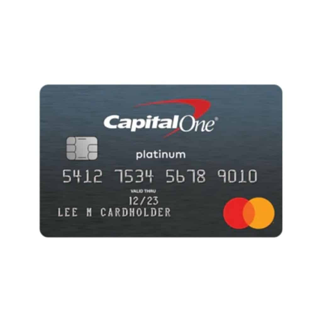 Capital One secured credit card.