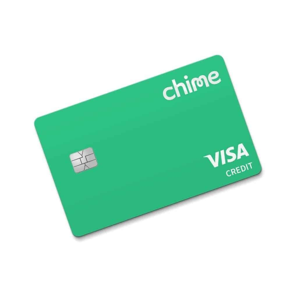 Chime credit builder card.