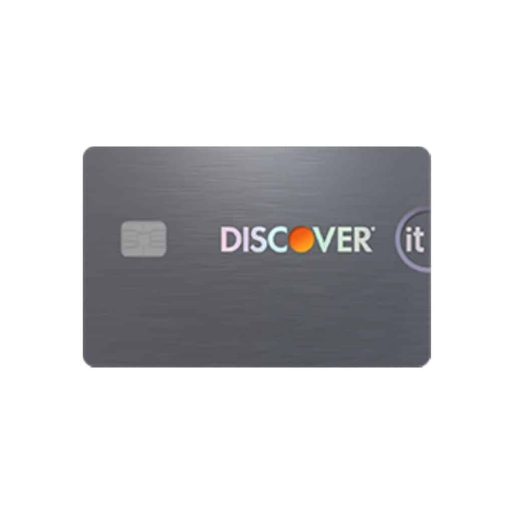 Discover it secured credit card.