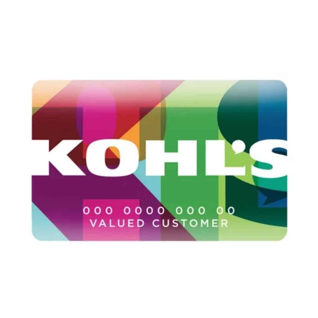 Kohl's card.