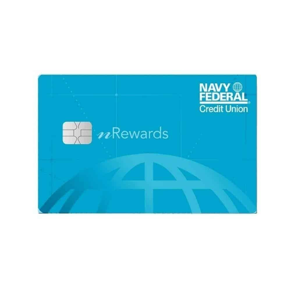 Navy Federal Credit Union secured credit card.