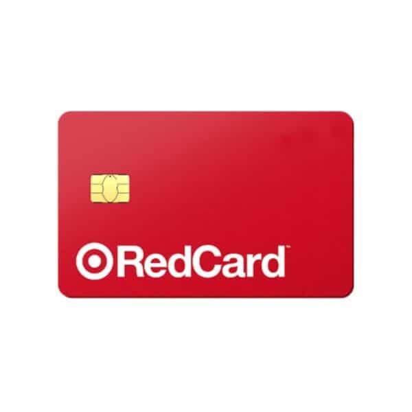Target RedCard credit card.